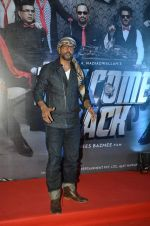 Javed Jaffrey at welcome back premiere in Mumbai on 3rd  Sept 2015
