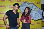 Kunal Khenu and Zoa Morani at Radio Mirchi studio to promote their film Bhaag Johny on 3rd Sept 2015