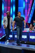 Salman Khan promote Hero on the show Dance Plus on 3rd Sept 2015