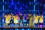 Salman Khan, Sooraj Pancholi, Athiya Shetty promote Hero on the show Dance Plus on 3rd Sept 2015