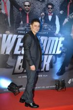 Shiney Ahuja at welcome back premiere in Mumbai on 3rd  Sept 2015
