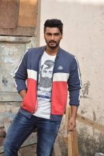Arjun Kapoor shoots for Flying machine in Mumbai on 4th Sept 2015 (54)_55eac85450ab3.JPG
