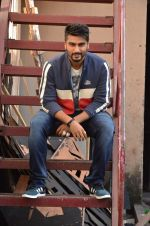 Arjun Kapoor shoots for Flying machine in Mumbai on 4th Sept 2015