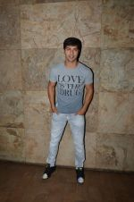 Varun Dhawan at Welcome Back 2 screening in Lightbox on 4th Sept 2015