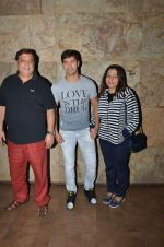 Varun Dhawan, David Dhawan at Welcome Back 2 screening in Lightbox on 4th Sept 2015