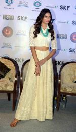 Athiya Shetty at Hero Press Meet in Gurgaon on 5th Sept 2015