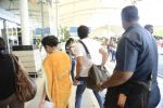 Farhan Akhtar snapped at domestic airport in Mumbai on 5th Sept 2015