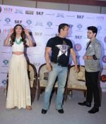 Salman Khan, Athiya Shetty, Sooraj Pancholi at Hero Press Meet in Gurgaon on 5th Sept 2015