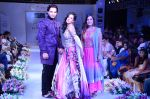 Amrita Rao with Designer Gaurrav Gaur & Riddhima Godha of Fuchsia walk the ramp at Jaipur Couture Show_55ed361a836af.JPG