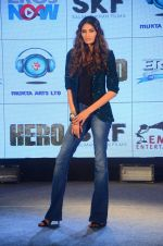 Athiya Shetty at Hero music launch in Taj Lands End on 6th Sept 2015