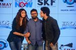 Athiya Shetty, Sooraj Pancholi, Nikhil Advani at Hero music launch in Taj Lands End on 6th Sept 2015