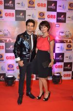 Karan Mehra, Nisha Rawal at Gr8 ITA Awards in Mumbai on 6th Sept 2015 (245)_55ed5fa7a040e.JPG