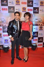 Karan Mehra, Nisha Rawal at Gr8 ITA Awards in Mumbai on 6th Sept 2015 (252)_55ed5fa9d264a.JPG