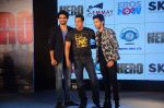 Salman Khan, Armaan Malik, Amaal Mallik at Hero music launch in Taj Lands End on 6th Sept 2015