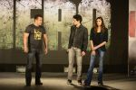 Salman Khan, Athiya Shetty, Sooraj Pancholi at Hero music launch in Taj Lands End on 6th Sept 2015