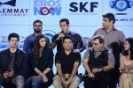 Salman Khan, Athiya Shetty, Sooraj Pancholi,Amaal Mallik, Nikhil Advani, Subhash Ghai, Palak Muchchal, Bhushan Kumar at Hero music launch in Taj Lands End on 6th Sept 2015