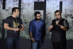 Salman Khan, Nikhil Advani, Subhash Ghai at Hero music launch in Taj Lands End on 6th Sept 2015