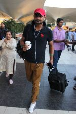 Harbhajan Singh snapped at airport in Mumbai on 7th Sept 2015