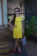 Yuvika Chaudhary at Harley food launch in The Club on 7th Sept 2015
