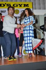 Athiya Shetty at Hero promotions at gold gym on 8th Sept 2015