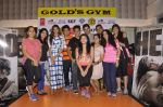 Athiya Shetty, Sooraj Pancholi at Hero promotions at gold gym on 8th Sept 2015