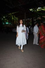 Juhi Chawla at Aadesh Shrivastava prayer meet on 8th Sept 2015