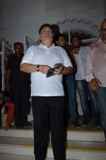 Rishi Kapoor at Aadesh Shrivastava prayer meet on 8th Sept 2015