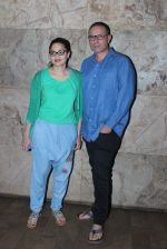 Alvira Khan, Atul Agnihotri  at Hero screening in Lightbox on 10th Sept 2015