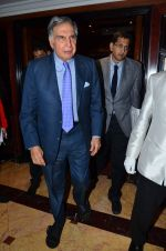 Ratan Tata at TB free India press meet in Mumbai on 10th Sept 2015