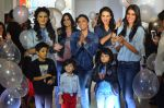 Shweta Salve, Aanchal Kumar, Alecia Raut at Pepe Jeans kids wear launch in Mumbai on 10th Sept 2015