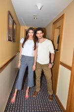 Sooraj Pancholi and Athiya Shetty promote Hero in Sun N Sand on 10th Sept 2015