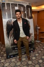 Sooraj Pancholi promote Hero in Sun N Sand on 10th Sept 2015