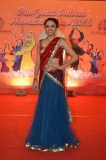 Amruta Khanvilkar at Country Club Navratri press meet in Andheri, Mumbai on 12th Sept 2015 (30)_55f54fcd60e5e.JPG