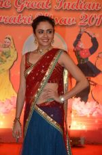 Amruta Khanvilkar at Country Club Navratri press meet in Andheri, Mumbai on 12th Sept 2015 (29)_55f54fca29393.JPG