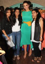 Bay Side Clothing Team with Amy Jackson at Femina Shopping Fest 2015 at F Beach House in Pune