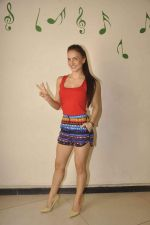 Elli Avram snapped in Mumbai on 12th Sept 2015