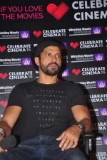 Farhan Akhtar as a speaker at Whistling Woods in Filmcity on 12th Sept 2015