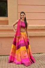 Gauhar Khan at Country Club Navratri press meet in Andheri, Mumbai on 12th Sept 2015 (41)_55f551efa76b0.JPG