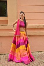 Gauhar Khan at Country Club Navratri press meet in Andheri, Mumbai on 12th Sept 2015 (43)_55f551f758338.JPG