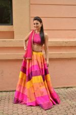Gauhar Khan at Country Club Navratri press meet in Andheri, Mumbai on 12th Sept 2015 (36)_55f551eae635b.JPG