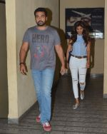 Raj and Shilpa Shetty snapped at PVR Juhu on 13th Sept 2015