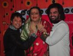 Lakshminarayan Tripathi blesses Kapil Sharma and Yuvraaj Parashar at the Aryan-Ashley sangeet of Dunno Y2 signifying same-sex marriage for the first time in Bollywood