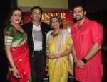 Lakshminarayan Tripathi, Nikhil Kamath, Dolly Thakore and Mudasir Ali pose at the Aryan-Ashley sangeet of Dunno Y2 signifying same-sex marriage for the first time in Bollywood