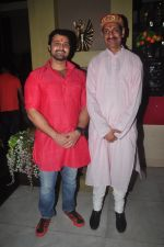Mudasir Ali and Manuvendra Singh pose at the Aryan-Ashley sangeet of Dunno Y2 signifying same-sex marriage for the first time in Bollywood
