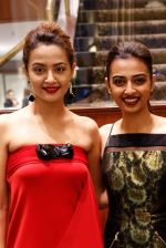 Surveen Chawla, Radhika Apte at Parched premiere at TIFF 2015 on 14th Sept 2015