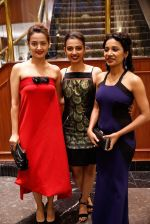 Surveen Chawla, Radhika Apte, Tannishtha Chatterjee at Parched premiere at TIFF 2015 on 14th Sept 2015