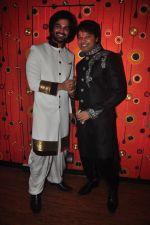 Yuvraaj Parashar and Kapil Sharma at the Aryan-Ashley sangeet of Dunno Y2 signifying same-sex marriage for the first time in Bollywood