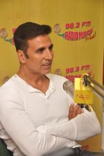 Akshay Kumar promote Singh is Bling at Radio Mirchi 98.3 on 15th Sept 2015
