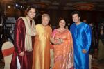 Amjad Ali Khan, Amaan Ali Khan, Ayaan Ali Khan at Classical app of SAREGAMA launch in J W Marriott on 15th Sept 2015