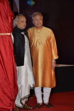 Amjad Ali Khan, Pandit Jasraj at Classical app of SAREGAMA launch in J W Marriott on 15th Sept 2015 (7)_55f92396c70a7.JPG